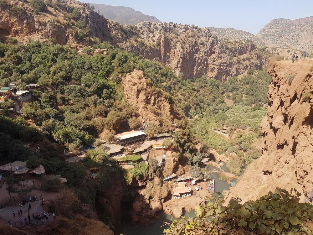Ouzoud-Marocco
